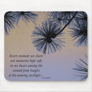 Sunset Pines Mouse Pad
