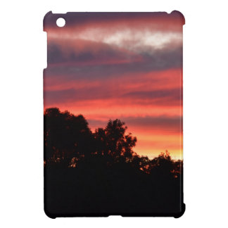 SUNSET PINK SHADES RURAL AUSTRALIA CASE FOR THE iPad MINI