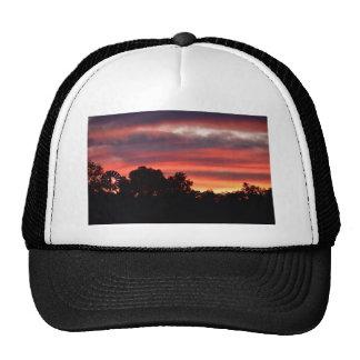 SUNSET PINK SHADES RURAL AUSTRALIA TRUCKER HAT