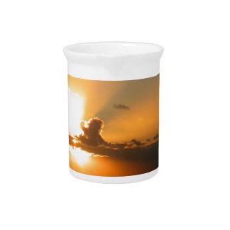 Sunset Beverage Pitcher