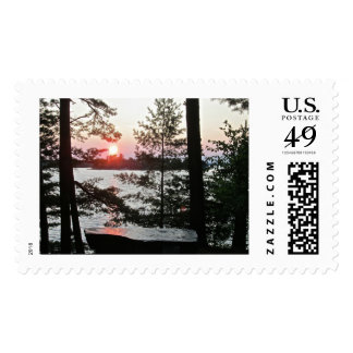Sunset Place of Rest Postage Stamps