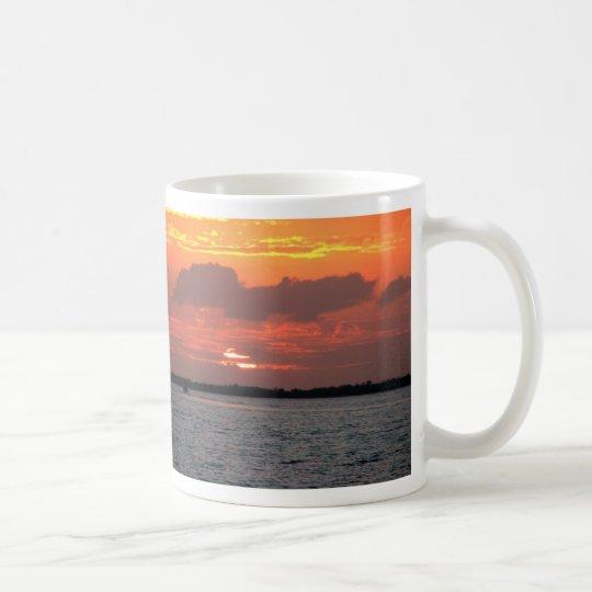 Sunset, Placencia, Belize Coffee Mug