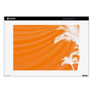 "Sunset Plam Trees 15"" Laptop Skins"