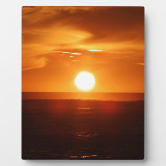 Sunset Plaque