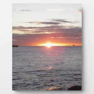 sunset photo plaques