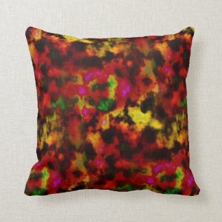 SUNSET PLASMA CLOUDS THROW PILLOW