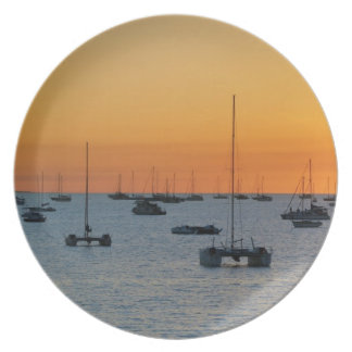Sunset Party Plate