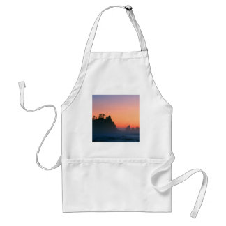 Sunset Point Arches Sea Stacks Adult Apron