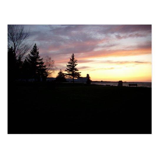 Sunset Point Collingwood, OntarioCanada Postcard
