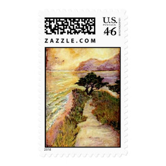 Sunset Point Postage Stamps