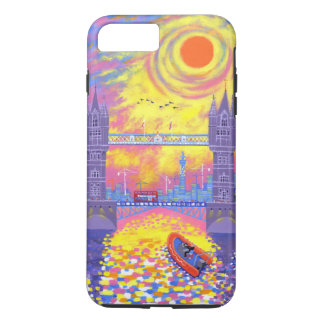 Sunset:Pool Of London 2013 iPhone 7 Plus Case