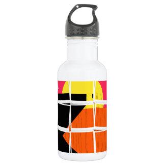 Sunset Pop Art Water Bottle