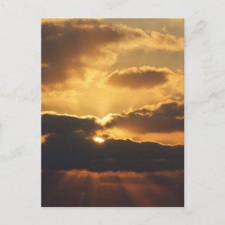 Sunset Post Card