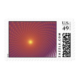 Sunset Postage Stamp