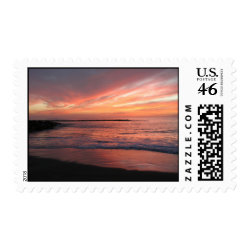 Sunset postage stamps zazzle_stamp
