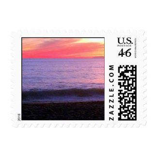 Sunset Postage Stamps