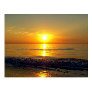 Sunset Postcard, Clearwater Beach, Florida