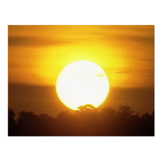 SUNSET posters add Greeting Text Event Name photo Postcard