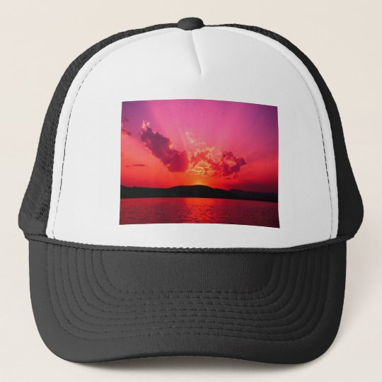 (sunset products selected) trucker hat