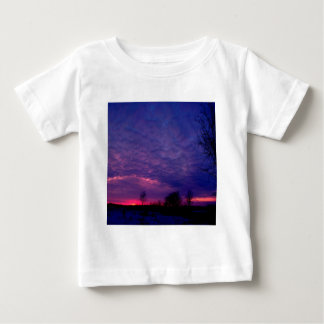 Sunset Purple Afterglow Baby T-Shirt