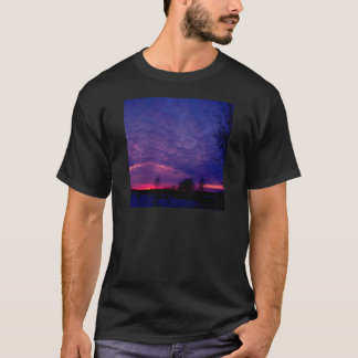Sunset Purple Afterglow T-Shirt