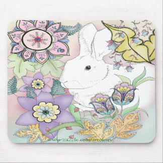 Sunset Rabbit Mousepad