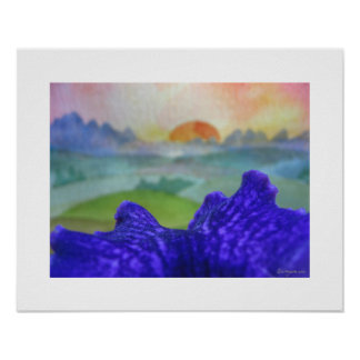 Sunset Rainbow Pictures Poster