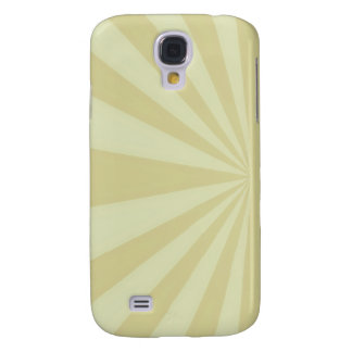 Sunset Rays Gold Samsung Galaxy S4 Case
