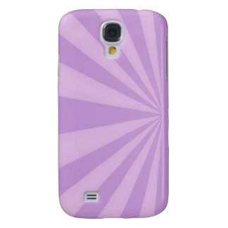 Sunset Rays Lilac Samsung S4 Case