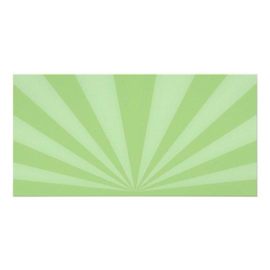 Sunset Rays Springtime Green Card