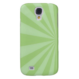 Sunset Rays Springtime Green Galaxy S4 Cover