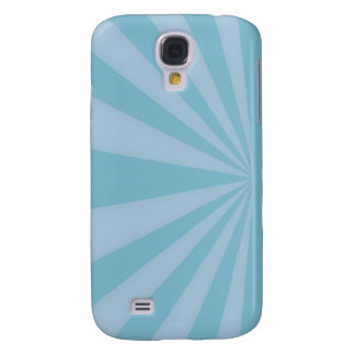 Sunset Rays Teal Blue Galaxy S4 Cover