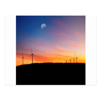 Sunset Reality Wind Wins Postcards