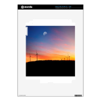 Sunset Reality Wind Wins Decal For The iPad 2