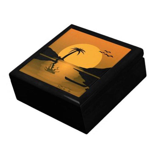 Sunset Reflect Jewelry Box