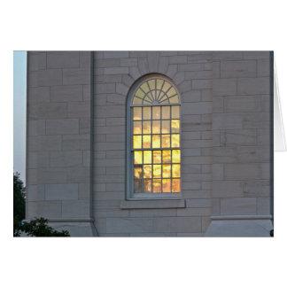Sunset Reflection Card