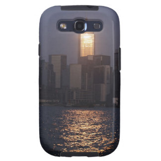 Sunset reflection on Central Plaza, WanChai, Galaxy S3 Covers