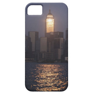Sunset reflection on Central Plaza, WanChai, iPhone 5 Cases