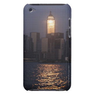 Sunset reflection on Central Plaza, WanChai, Case-Mate iPod Touch Case