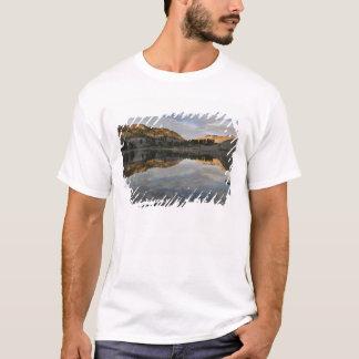 Sunset reflections on Lake Helen, Lassen T-Shirt