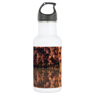 Sunset reflections 18oz water bottle