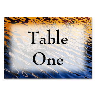 Sunset Reflections Table Cards