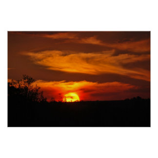 Sunset Reminder Poster