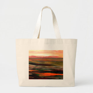 Sunset Ribbons  CricketDiane Ocean Art Canvas Bag