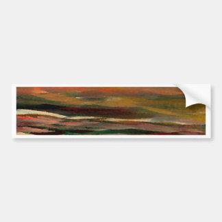 Sunset Ribbons  CricketDiane Ocean Art Bumper Sticker