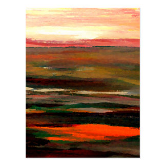 Sunset Ribbons  CricketDiane Ocean Art Postcard