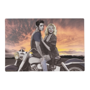 Sunset Ride 2 Placemat at Zazzle