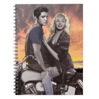 Sunset Ride Notebook