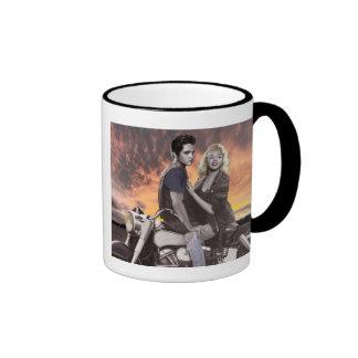Sunset Ride Ringer Mug
