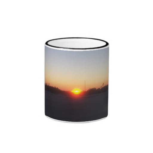 SunSet Ringer Coffee Mug